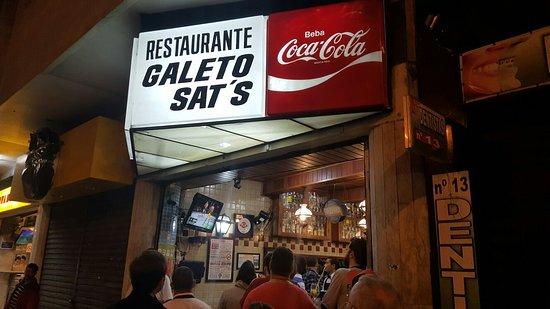 Melhores lugares pra tomar cachaça no Rio - Galeto Sat's