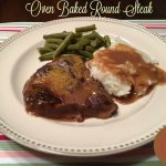 Oven Baked Round Steak