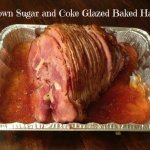 Brown Sugar and Coke Glazed Baked Ham