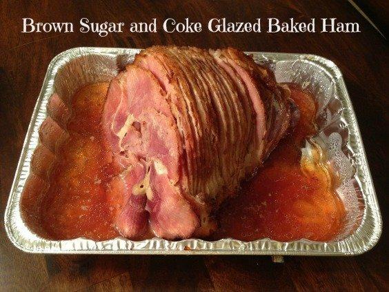 Brown Sugar and Coke Glazed Baked Ham