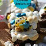 Minion S'More Brownies