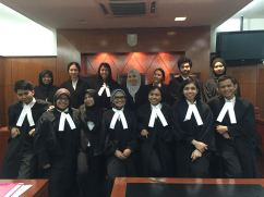 Defence and prosecution team