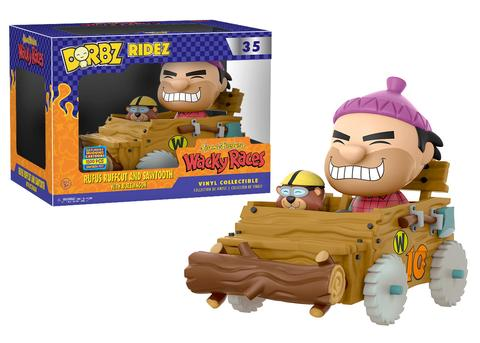 Charitable New Dorbz Ridez Wacky Races Peter Perfect W/ Turbo Terrific Figure Official Animation Characters Wacky Races