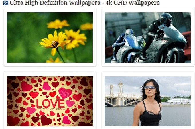 Features of the free uhd wallpapers