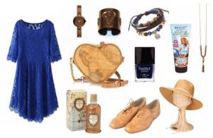 The Blue Lace Dress
