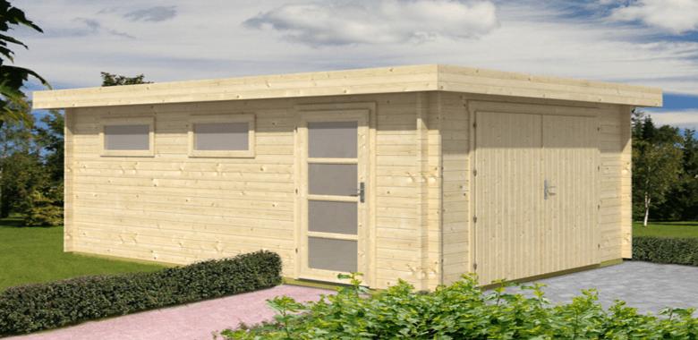 Why a Quality Wooden Garage i Better Than a Brick Garage