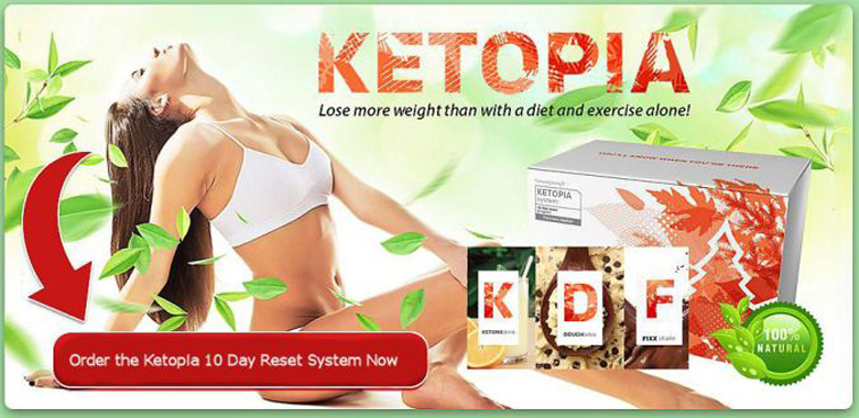 KETOPIA – BURN FAT, DON'T ABUSE CARBS