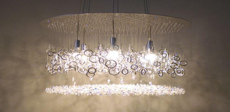 Swarovski crystal chandelier