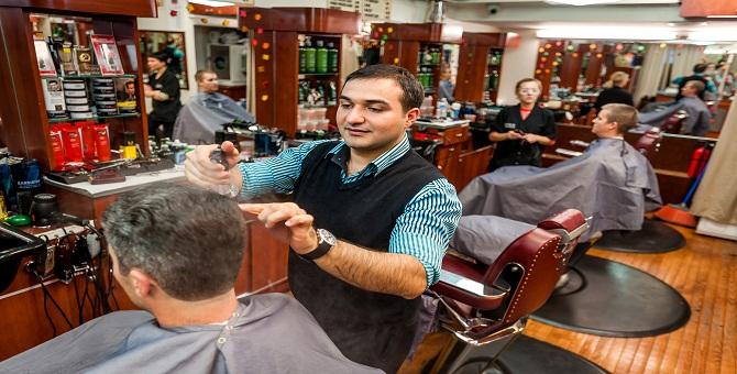 Clinton Street Barber Shop,  NY; 11/03/2014