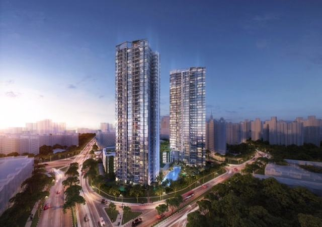 How much commission do i need to pay for buying lake grande, parc life ec or gem residences?