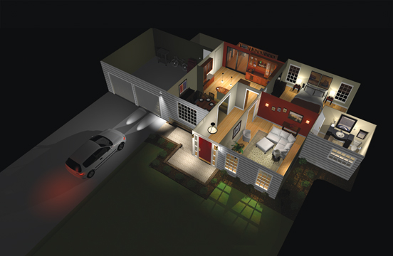 Lutron Whole House Rendering