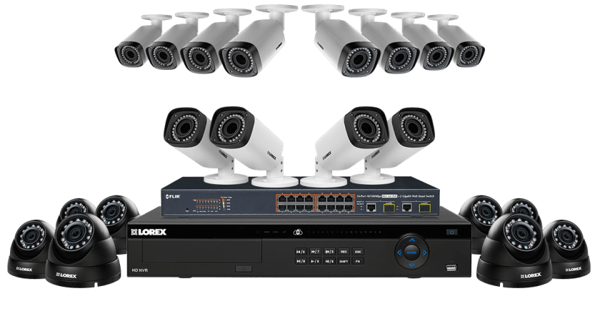 Two Best Affordable IP security Camera System