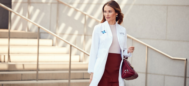 How to Find Flattering Scrubs and Lab Coats When You're Petite