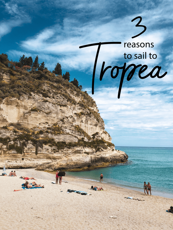 beach of tropea, italy
