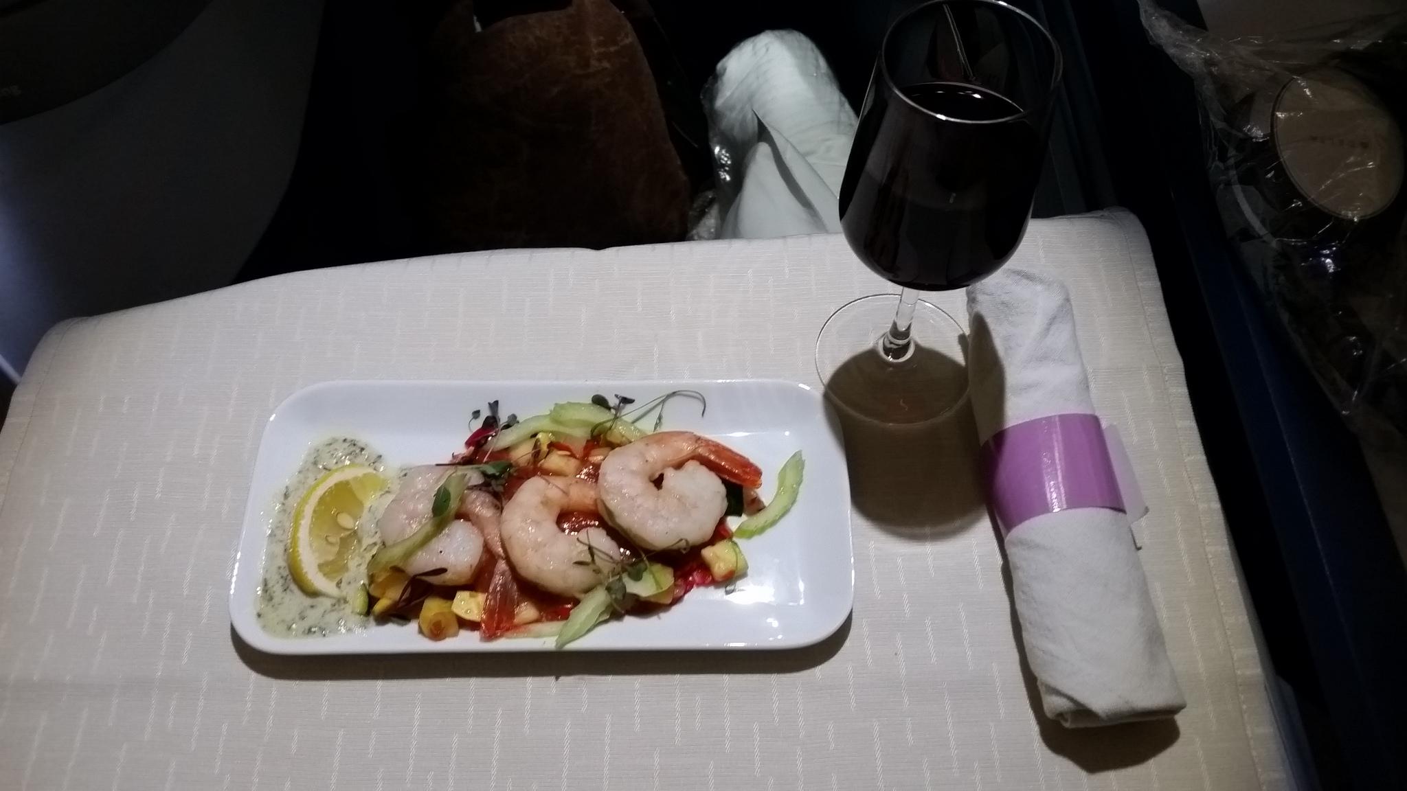 1st class appetizer