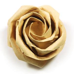 origami valentine flower