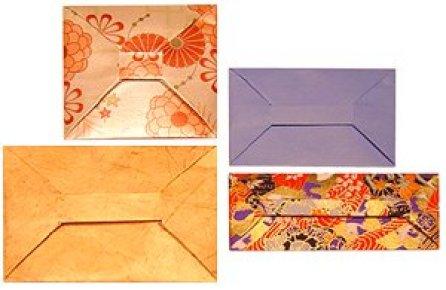 origami valentine envelopes