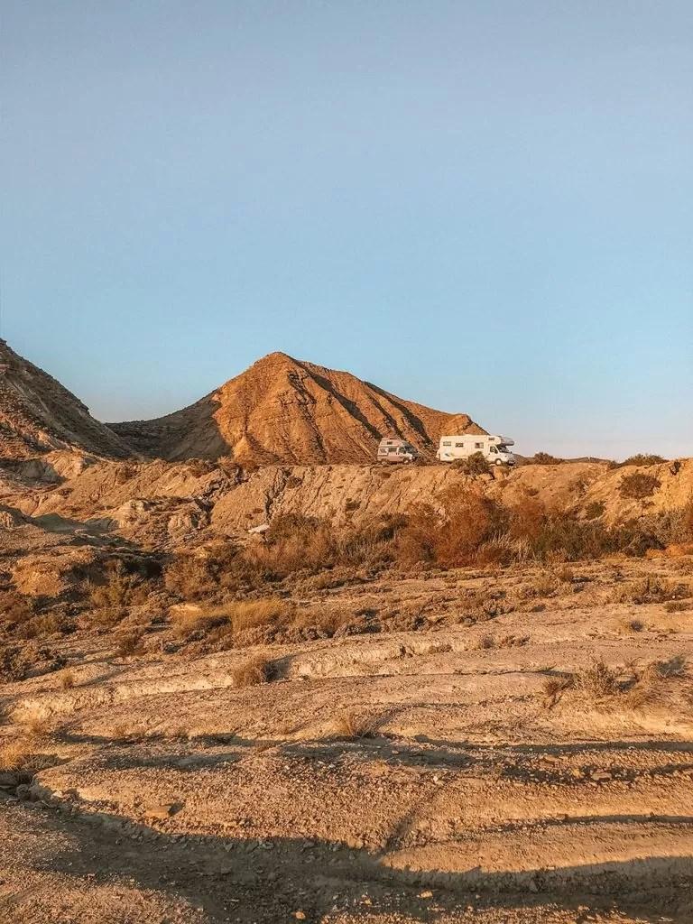 Favorite Wild Camp Spots in Spain Tabernas Desert
