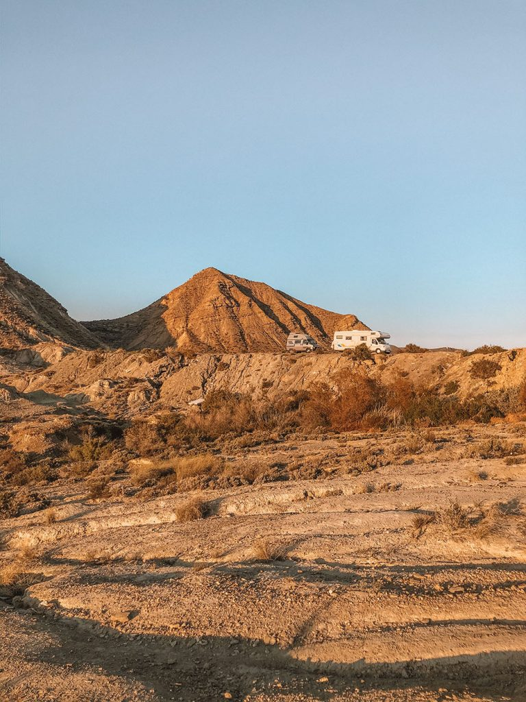 Favorite Wild Camp Spots in Spain Tabernas Desert