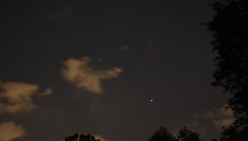 Jupiter and Saturn, July 17, 2020
