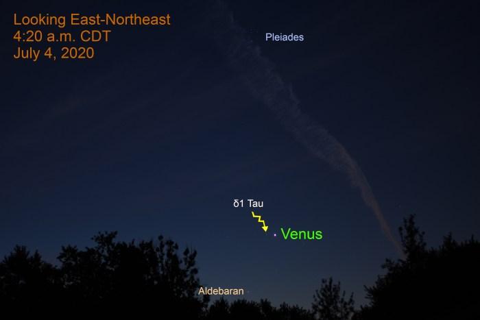 Venus in Taurus, July 4, 2020.