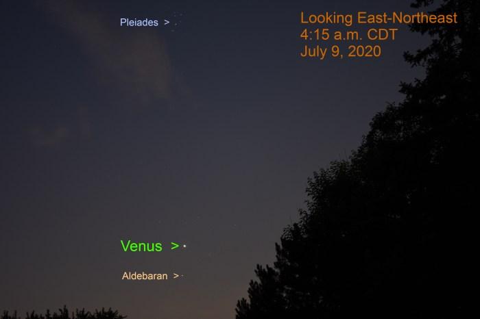 Venus in Taurus, July 9, 2020.
