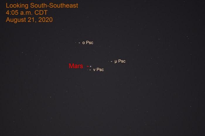 Mars in Pisces, August 21, 2020