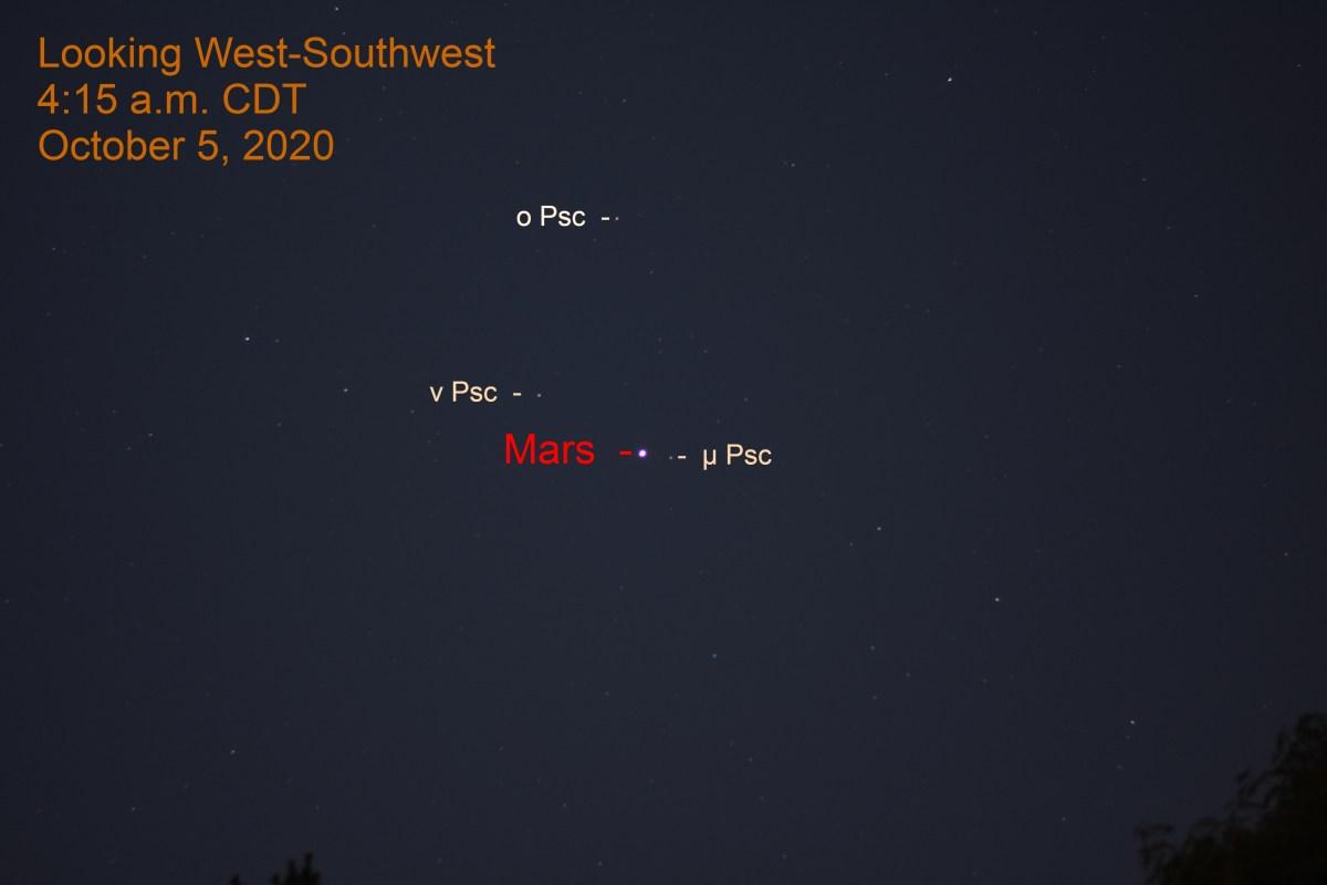 Mars in Pisces, October 5, 2020