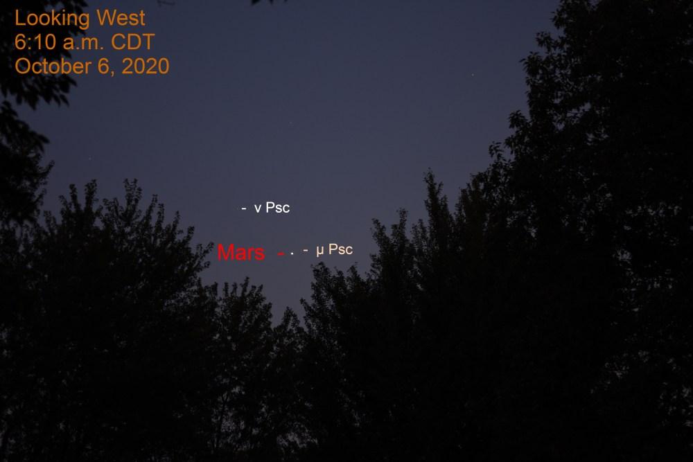Mars in Pisces, October 6, 2020