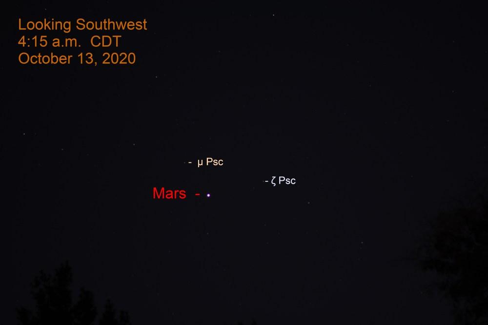 Mars in Pisces, October 13, 2020