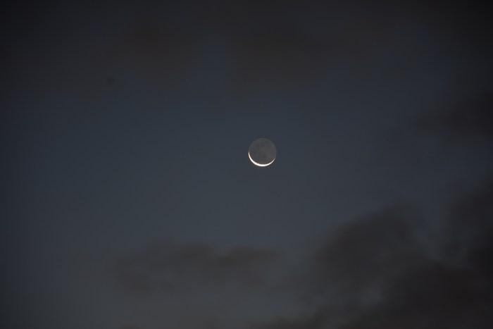 Crescent Moon, November 13, 2020