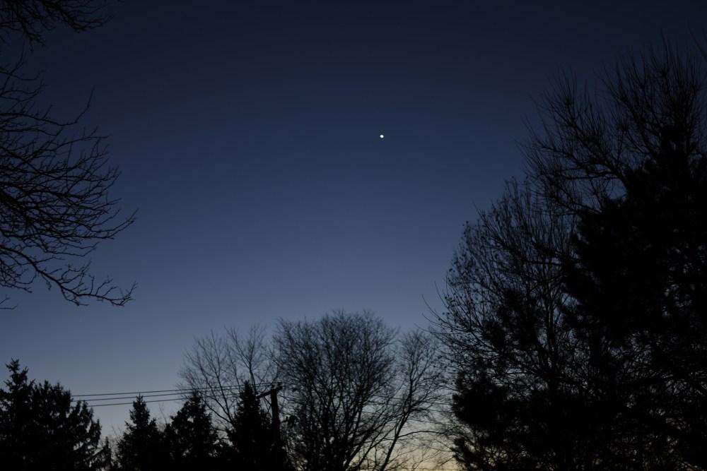 2020, November 28: Venus in the morning sky.
