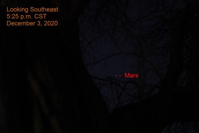 Mars, December 3, 2020