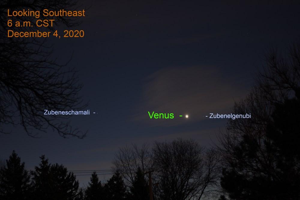 Venus, December 4, 2020