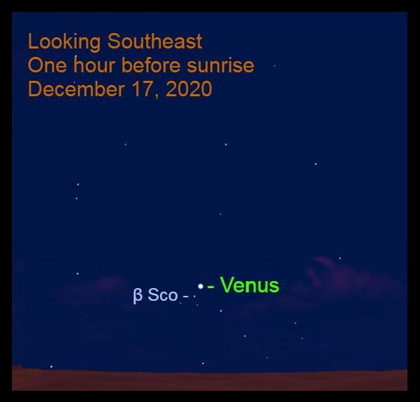 Venus, December 17, 2020