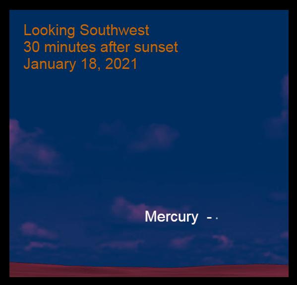 Mercury, January 18, 2021