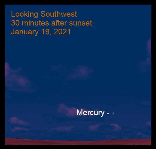 Mercury, January 19, 2021