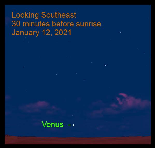 Venus, January 12, 2021