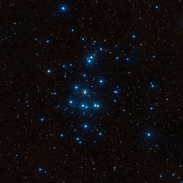The Beehive or Praesepe star cluster (National Science Foundation Photo)