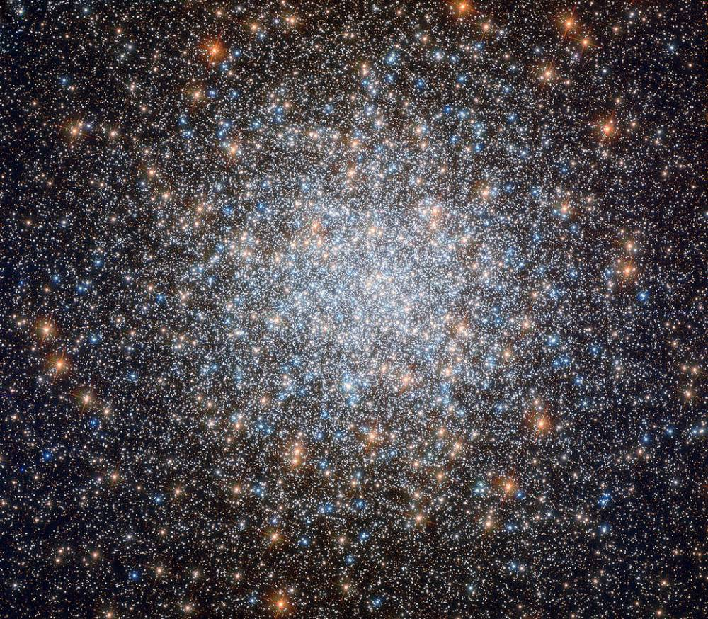 Photo Caption - Globular clusters are inherently beautiful objects, but the subject of this NASA/ESA Hubble Space Telescope image, Messier 3, is commonly acknowledged to be one of the most beautiful of them all. (NASA/ESA Photo)