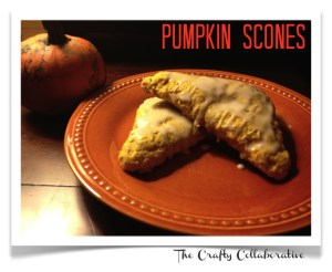 pumpkins scones