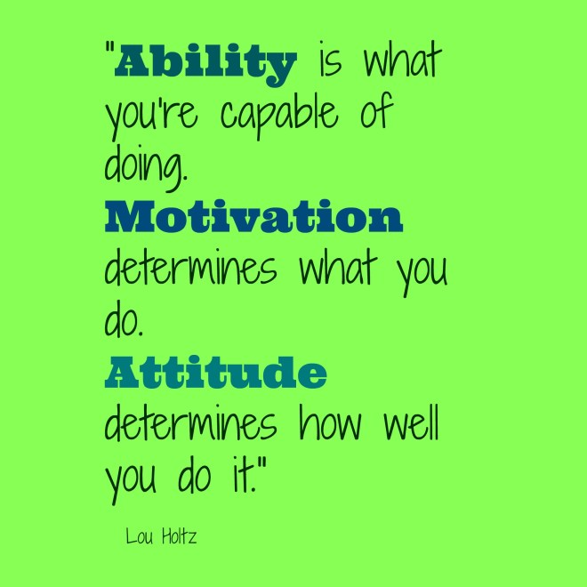 Attitude and Motivation