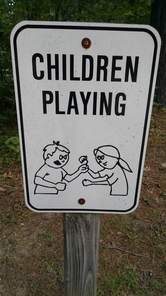 playing sign