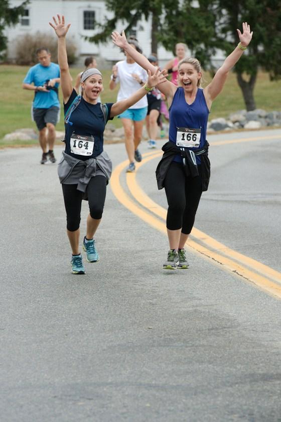 gansett half marathon smiles