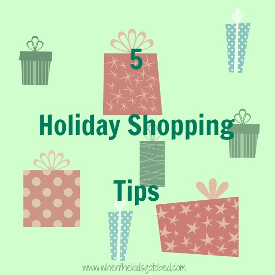 5 holiday shopping tips