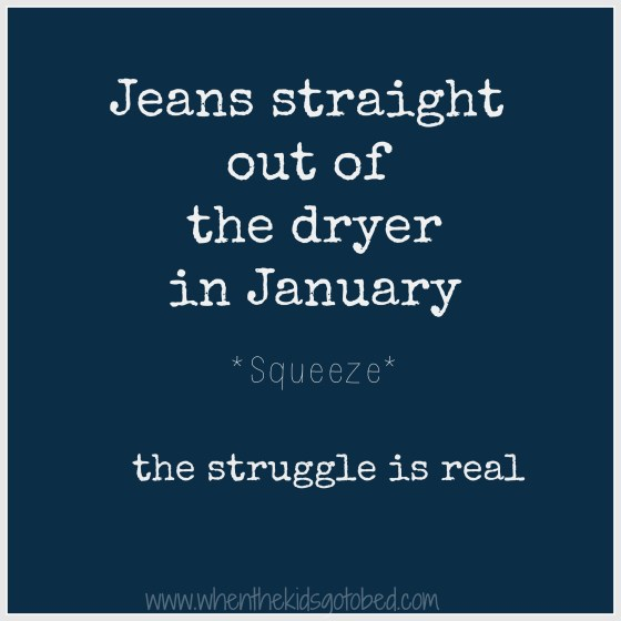 dryer jeans
