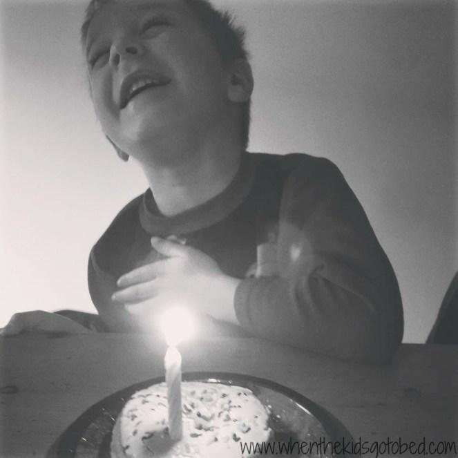Finn birthday donut 7