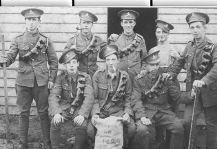Soldiers of the Monmouthshire Regiment