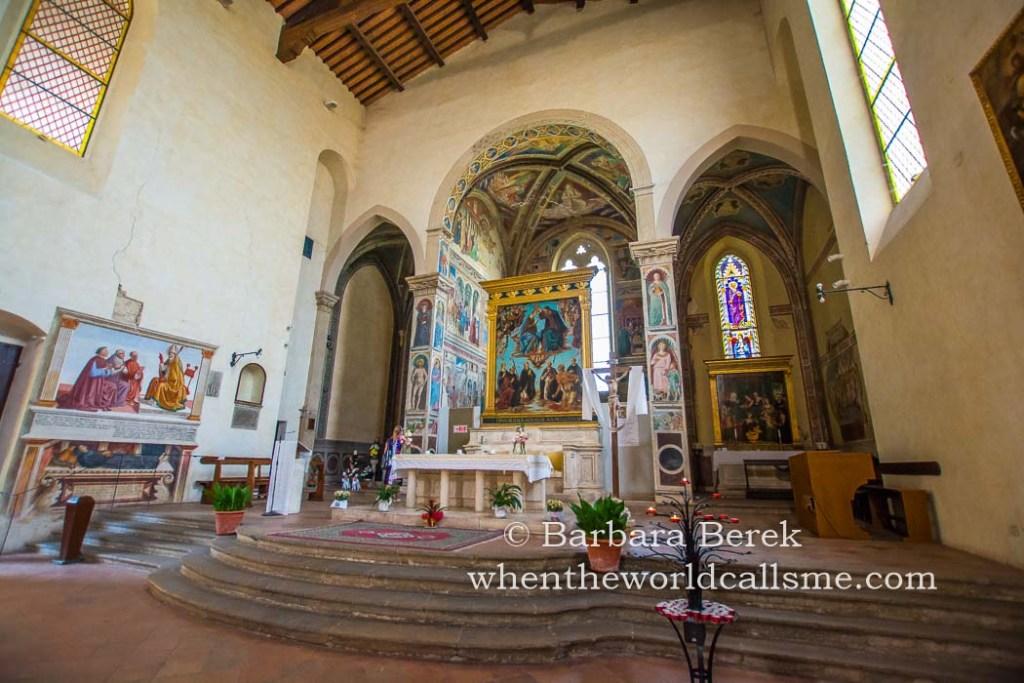 Sant'Agostino - interior