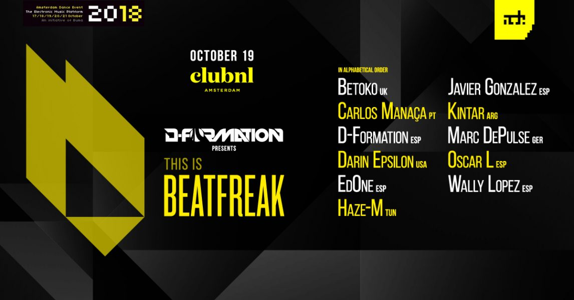 Beatfreak Line Up